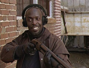 Omar in The Wire